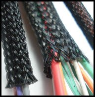Braided_Loom ls1 stand alone engine harness cable throttle current wiring harness loom at bayanpartner.co