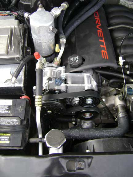 Up s lsx engine swap a c lines cpw harness