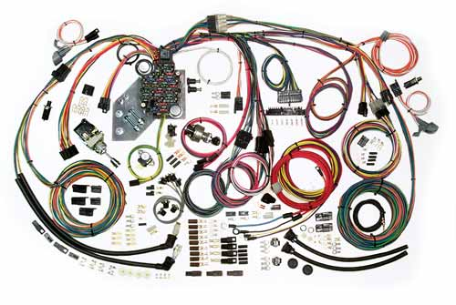 complete wiring kit 1947 55 chevy truck current performance rh currentperformance com 1951 ford f1 wiring harness 1952 ford wiring harness