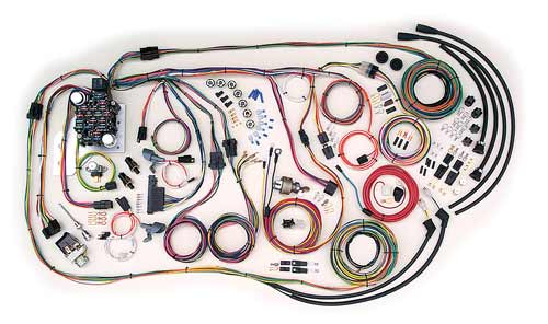 Complete Wiring Kit 19551959 Chevy Truck Current Performance - Gmc Truck Wiring Harness