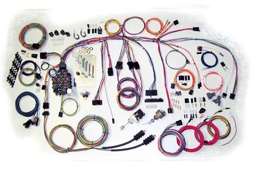 500560 complete wiring kit 1960 1966 chevy truck current performance  at gsmx.co