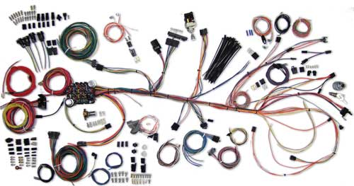 500981 complete wiring kit 1964 67 chevelle current performance chevelle wiring harness at suagrazia.org