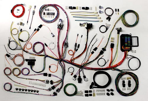 Plete Wiring Kit – 195362 Corvette: 1959 Corvette Engine Wiring Harness At Sewuka.co