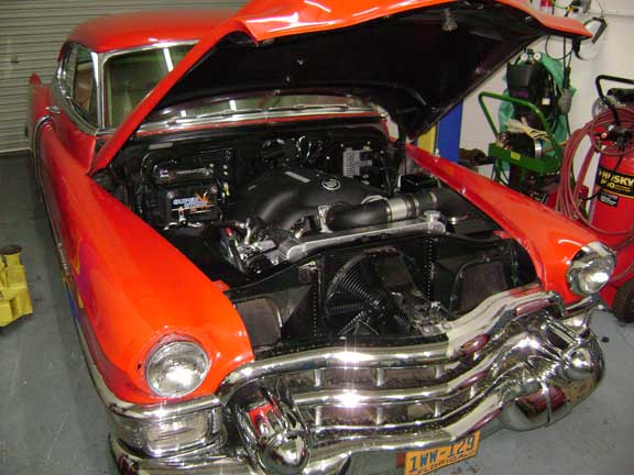 1953 Cadillac with 08 5 3 CPW LSX Harness LSX Swap
