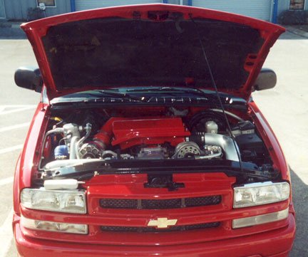 1999 S 10 Xtreme with 96 Vette LT1 CPW LSX Harness