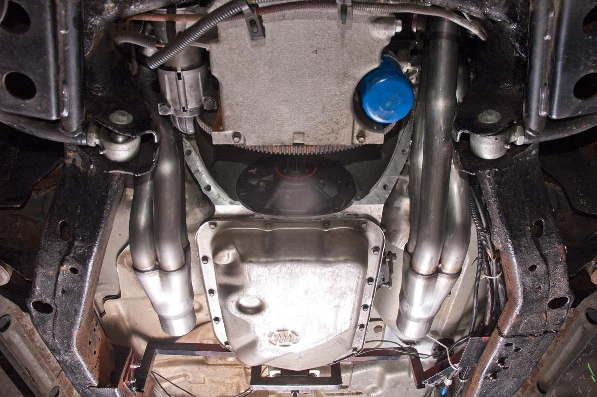 1 7 8 Stainless Steel Lsx 85 04 2wd S10 Long Tube Header Kit Lss10 Wiring Harness Lt1 Headers From