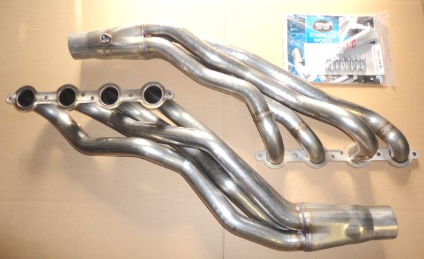 1-7  8 U0026quot  Stainless Steel Lsx 85-04 2wd S10 Long Tube Header Kit Lss10