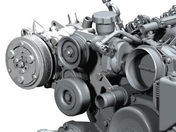 LSx Engine Swap A/C Relocation Bracket