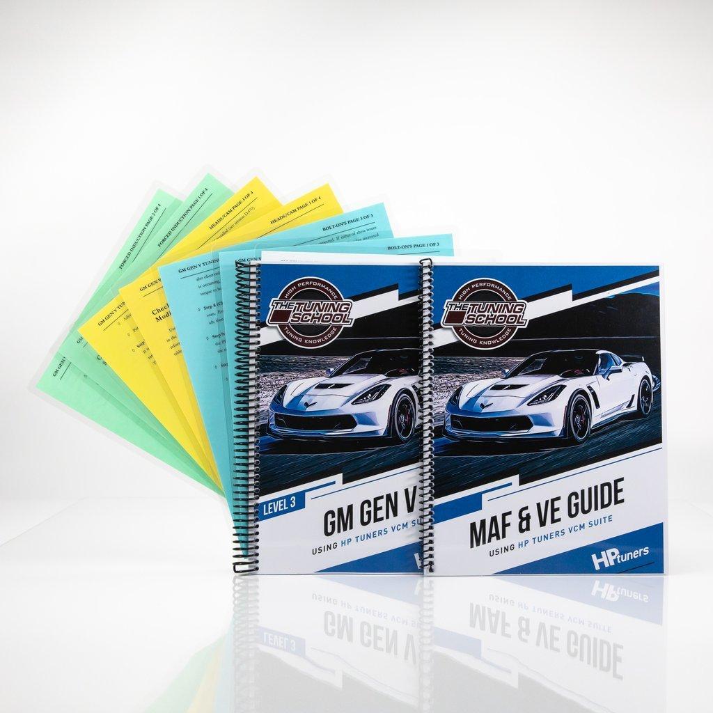 GM Gen V Tuning using HP Tuners Software Level 3 Printed Course - The  Tuning School